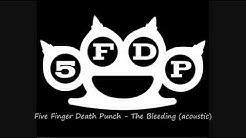 5FDP Five Finger Death Punch - The Bleeding acoustic