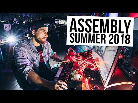 Konepaikka täynnä lediä! - Assembly Summer 2018