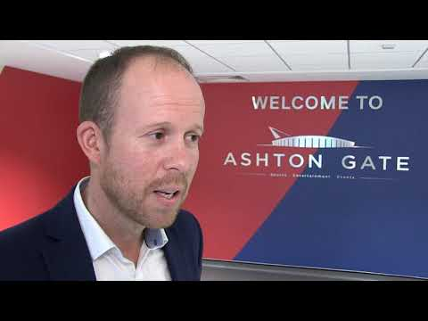 Ashton Gate Managing Director Mark Kelly talks Take That announcement
