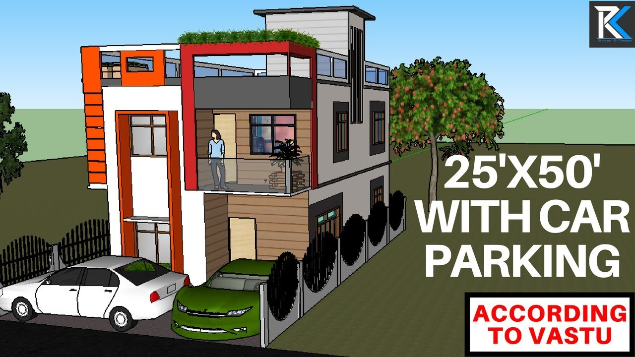 9 25 X 50 Modern Building With Parking East Facing According To