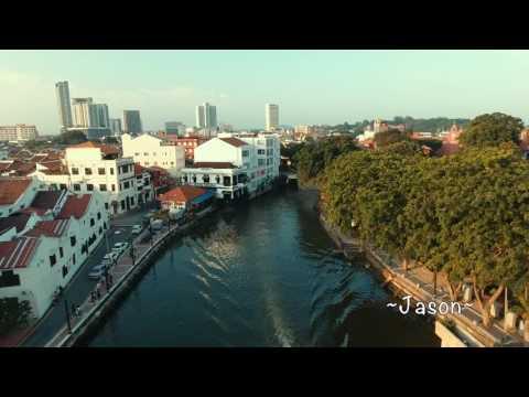 Melaka - Melaka UNESCO World Heritage City l Jonker Walk l Christ Church Melaka l A Famosa [4K]