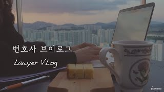 eng)변호사 재택근무 vlog/믹스커피로 카페라떼 만…