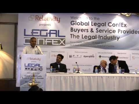 Top Lawyer Dr. Surat Singh as key note speaker at Global Legal Conference at New Delhi