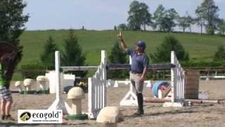 Part 2/2 Diana Burnett - Jumping - Canadian Eventing Team Training Camp