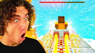 Attempting To Break MAX SPEED In Minecraft!