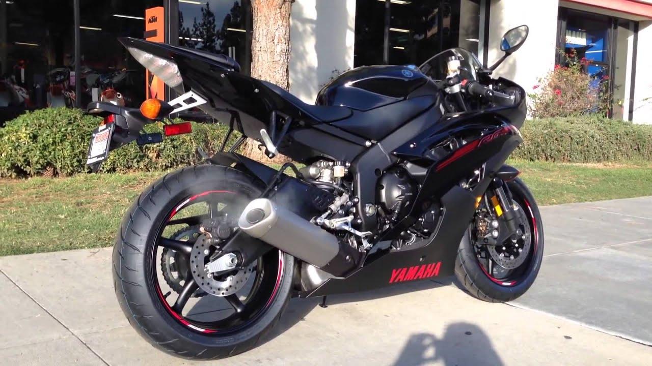 2015 Yamaha Yzf R6 Raven Black