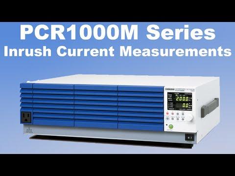 Kikusui Pcr1000m 1000va Ac Power Supply Frequency