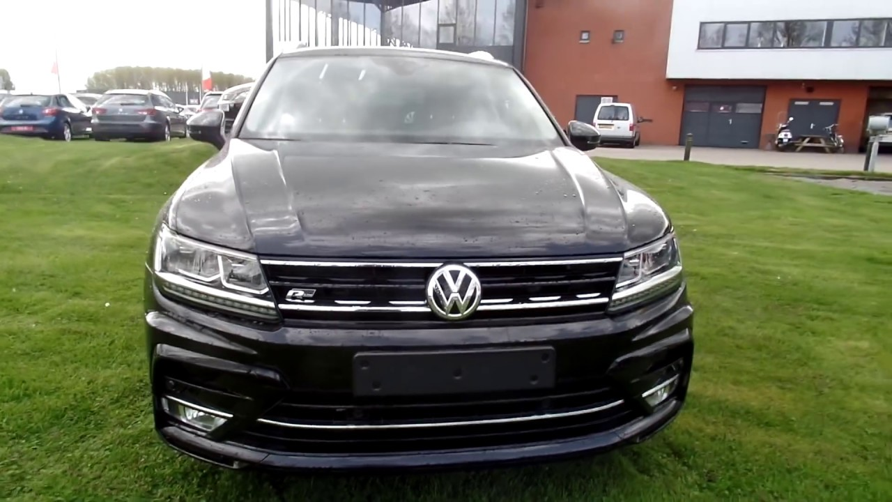 volkswagen tiguan r line deep black 2017 2018 dsg youtube. Black Bedroom Furniture Sets. Home Design Ideas