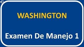 Examen De Manejo De Washington 1