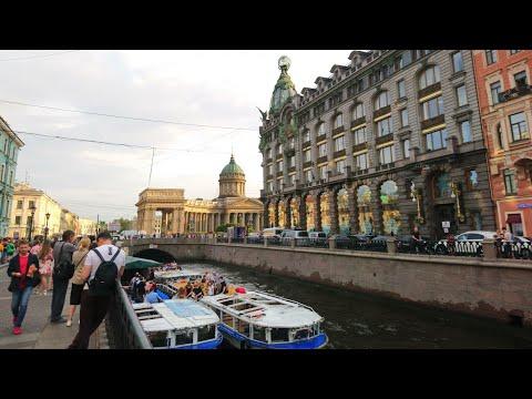 Санкт-Петербург. Белые ночи. Saint Petersburg. White Nights. Peter's Trip.