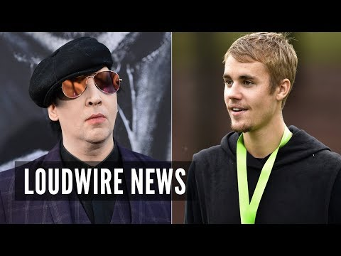 Justin Bieber Responds to Marilyn Manson TongueLashing; Trent Reznor Reaches Out