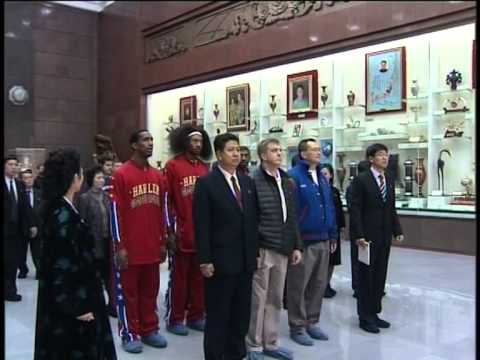 Dennis Rodman and Harlem Globetrotters in North Korea - FULL KCNA TV Spot