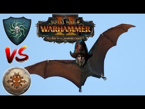 Vampire Coast vs Norsca | DECK DROPPERS - Total War Warhammer 2