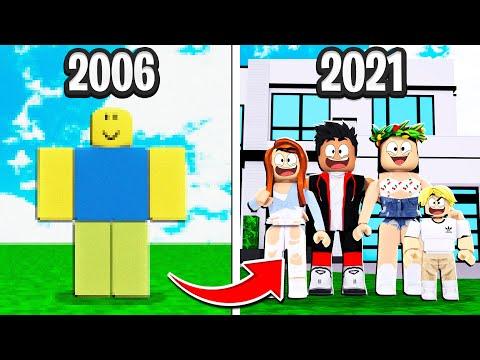 L'ÉVOLUTION DE ROBLOX : DE 2006 à 2021 ! (Roblox Generations 2)