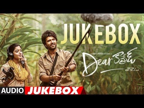 Dear Comrade Telugu Jukebox     Vijay Devarakonda, Rashmika    Justin Prabhakaran