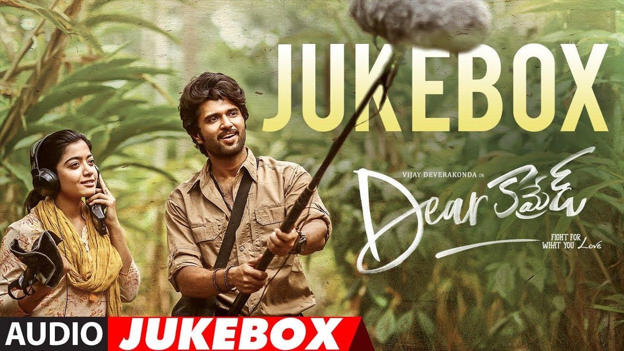 Dear Comrade Telugu Jukebox ||  Vijay Devarakonda, Rashmika || Justin Prabhakaran