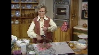 How to make a Pavlova | Mary Berry makes a Pavlova | Afternoon Plus | 1979