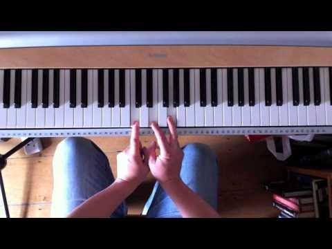 Practising 145 piano chords