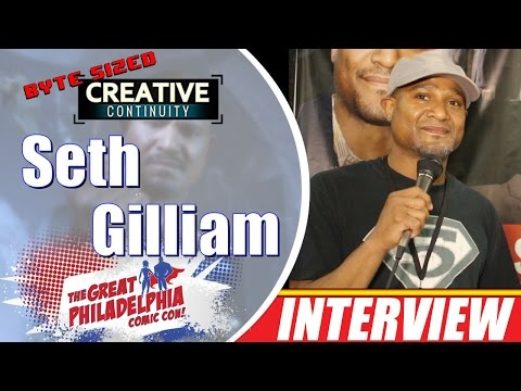 Seth Gilliam actor; Father Gabriel Stokes on Walking Dead  Byte Sized Creative Continuity