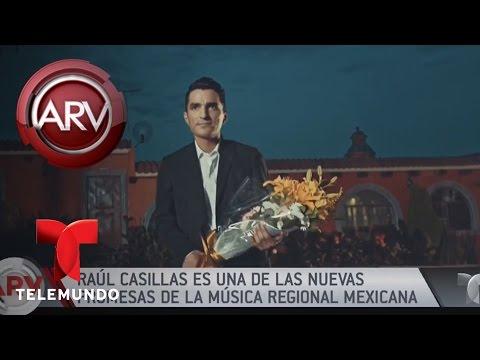 Raúl Casillas está feliz por su nuevo sencillo  Al Rojo Vivo  Telemundo