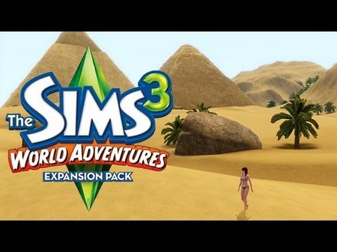 lgr the sims 3 world adventures review youtube