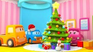 Weihnachten und Silvester mit den Schlauen Autos - Lehrreicher Cartoon für Kinder