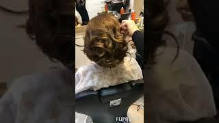 Տոնական սանրվածք/ Праздничная прическа/ Festive hairstyle