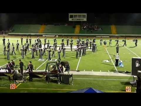 Huntley High School Marching Band @ PCHS Invitational 2014 -Illusions