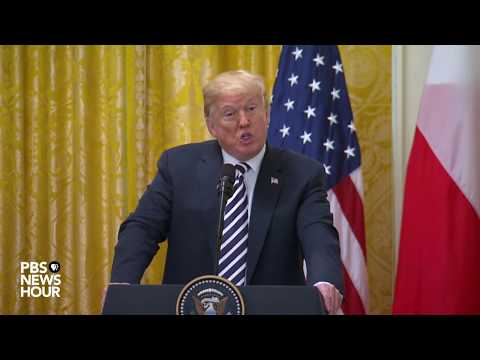 WATCH LIVE: President Donald Trump holds news conference with Polish President Andrzej Duda