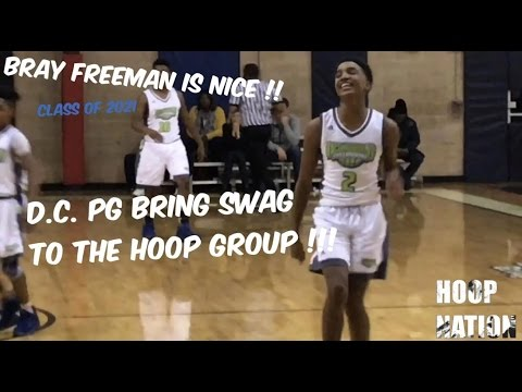 Class Of 2021 PG Bray Freeman IS TOUGH - Puts HANDLES & VISION On Full Display @ Tip Off Classic '16