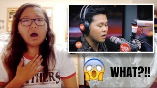 "Marcelito Pomoy sings ""The Prayer"" Celine Dion / Andrea Bocelli LIVE on Wish 107 5 Bus REACTION!!!"