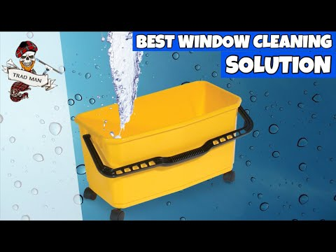 Absolute Best Window Cleaning Solution - Squeegee Skills Episode 3