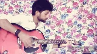 Moyna chalat chalat kore re guiter instrumental and tab by Biswajit