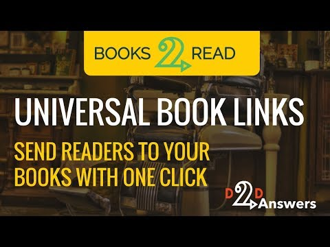 Universal Book Links - Send readers to your books with one click