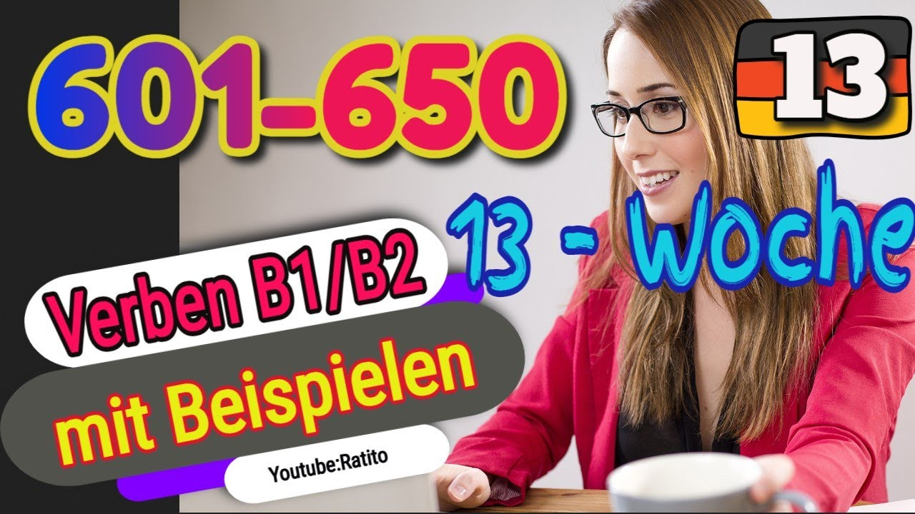 Download Verben B1/B2 mit Beipielen - 601-650