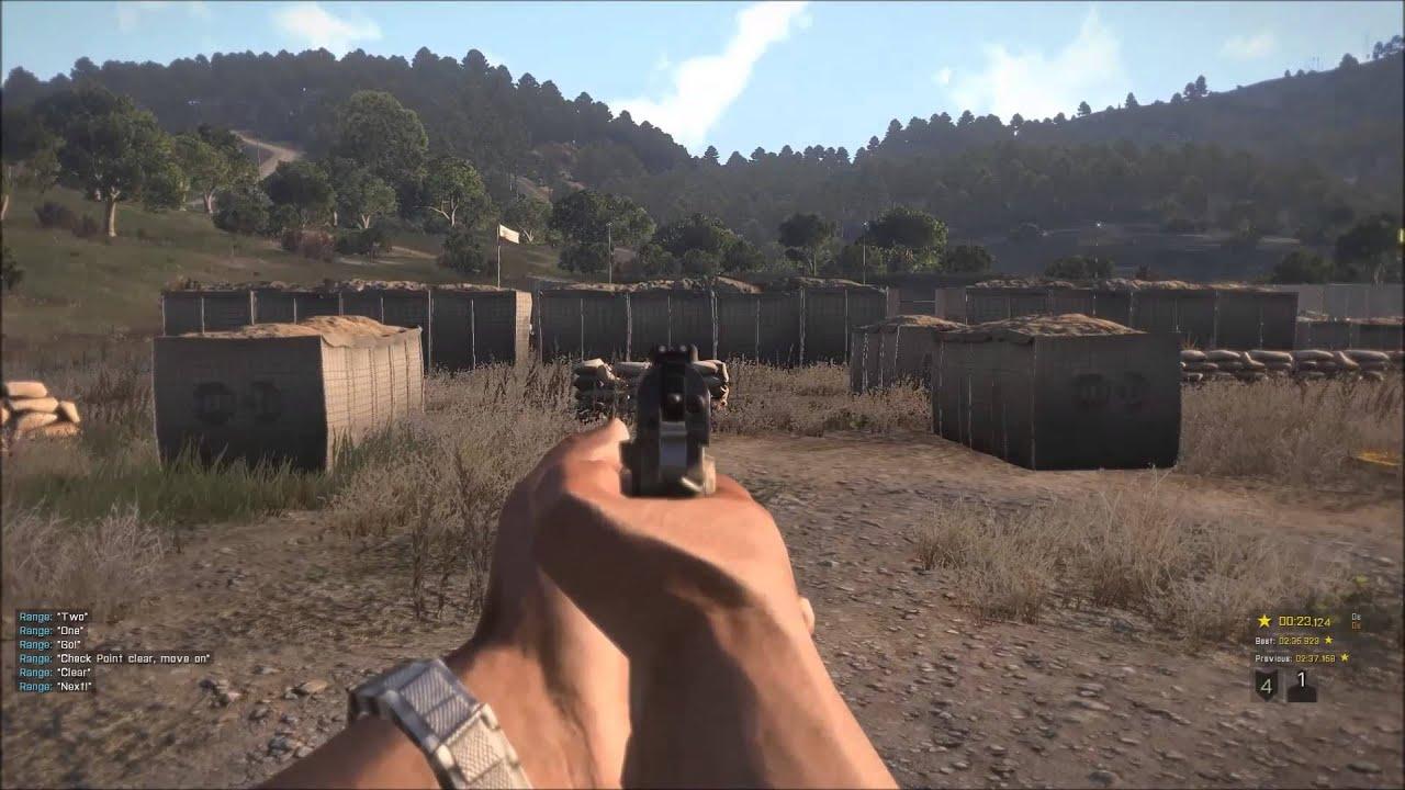 ARMA 3 Firing Drill: CoF Green *GOLD* w/All Bonus Targets