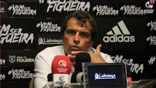 Coletiva Milton Cruz - Figueirense 2 x 1 Juventude - Série B - 13/04/2018