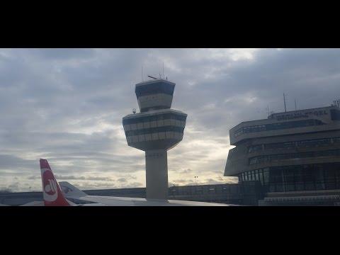 Berlin Tegel Airport - Departures and Arrivals