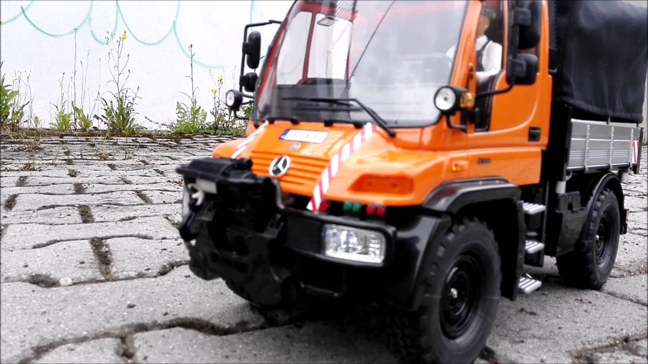 carson mercedes benz unimog u300 1 12 youtube
