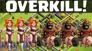OVERKILL! || CLASH OF CLANS | Let's Play Clash of Clans [Deutsch/German HD] Android iOS