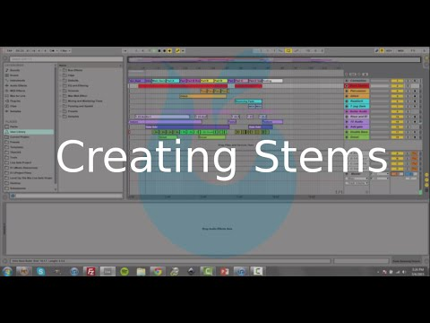 Creating Stems with Ableton Live