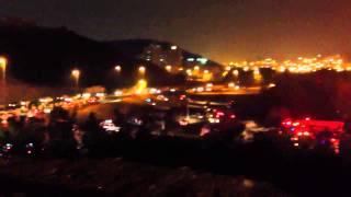 حريق فندق الانتر في مكة