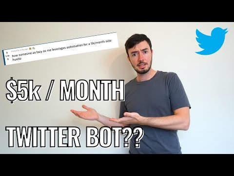Making $5k/month With A Twitter Bot?