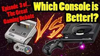 Is The SEGA Megadrive/Genesis Better Than The SNES!? Top Hat Chat Live!!