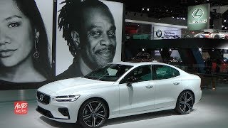 2019 Volvo S60 T6 R-Design - Exterior And Interior Walkaround - 2018 LA Auto Show