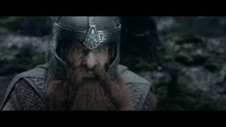 Братство Кольца идет через лес Фангорн. HD