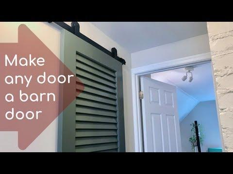 Make Any Door A Barn Door: How To Install A Small-space Barn Door