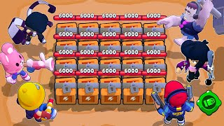 📦 20 Boxes 🆚 43 Brawlers 📦 The fastest