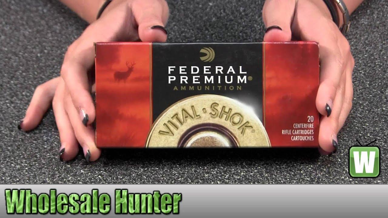 Federal Cartridge 243 Winchester 100gr Sierra GameKing BTSP V-Shock Per 20  P243C Gaming Unboxing
