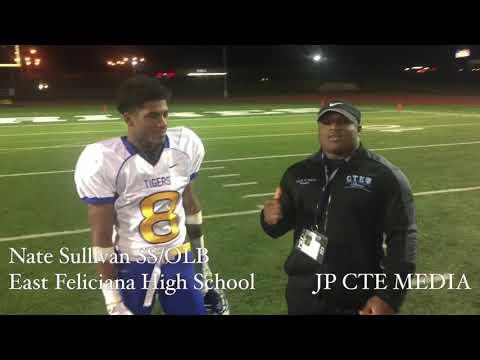 CTE Media Interview Nate Sullivan East Feliciana High School